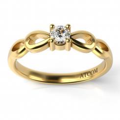 inele de logodna ieftine aur galben