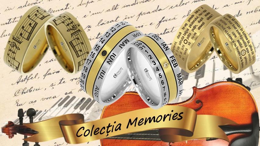 Verighete Personalizate Colectia Memories